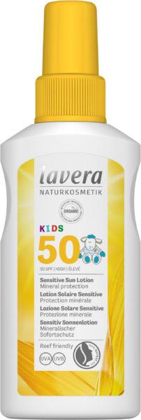 лавера слънцезащитен спрей за деца 50 фактор
